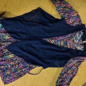 Girls dress and vest set